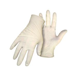 Boss Latex Disposable Glove White 12ea/10 pk
