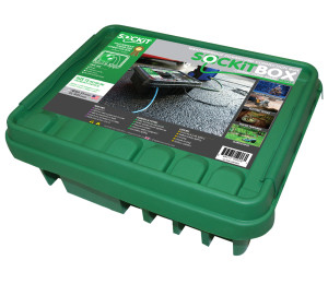 SOCKiTBOX Weatherproof Powercord Connection Box Green 10ea/Large