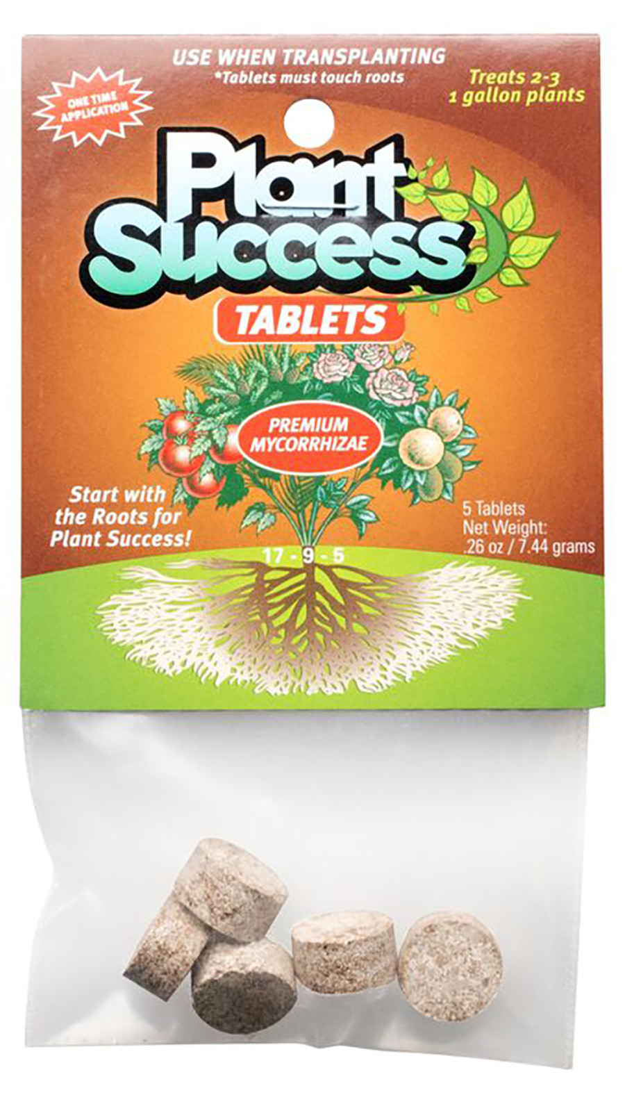 Plant Revolution Plant Success Mycorrhizal Fertilizer Tablets