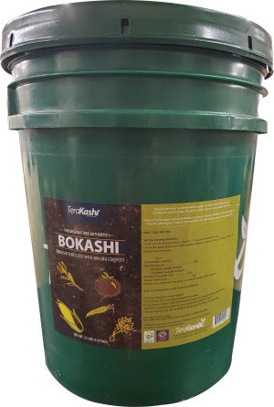 TeraGanix Organic Rice Bran EM-1 Bokashi 1ea/22 lb