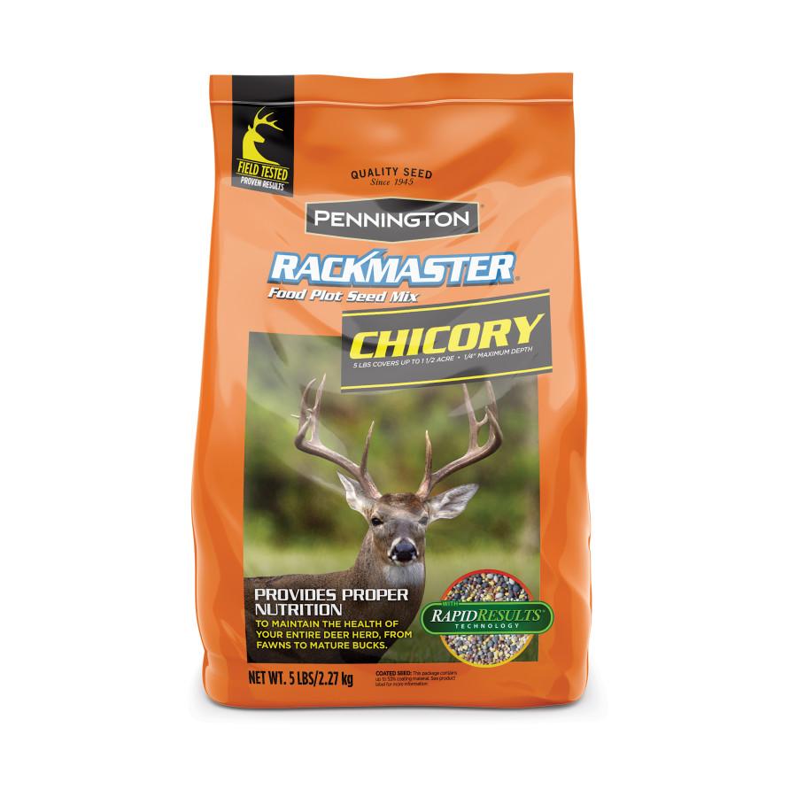 Pennington Rackmaster Chickory Food Plot Seed Mix Coated 6ea/5 lb