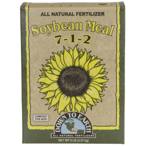 Down To Earth Soybean Meal Natural Fertilizer 7-1-2 6ea/5 lb