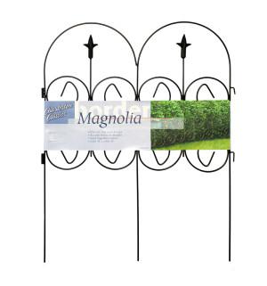 Garden Zone Magnolia Classic Steel Border Green 16ea/32Inx24 in