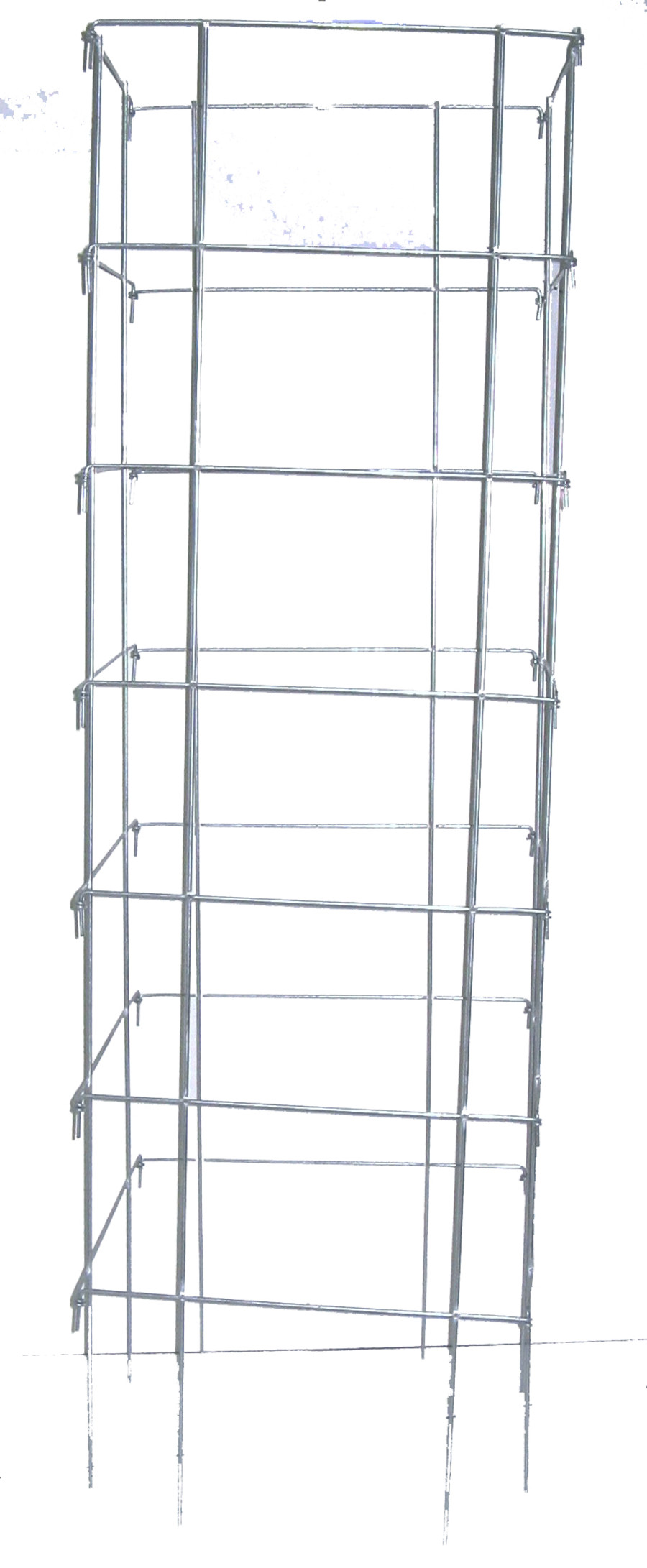 Midwest Wire Works Square Cage 8-Leg Heavy-Duty