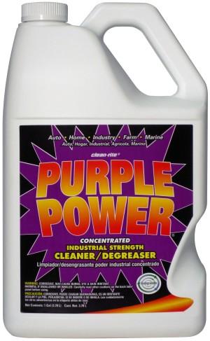 Clean-Rite Purple Power Industrial Strength Cleaner Degreaser 6ea/1 gal