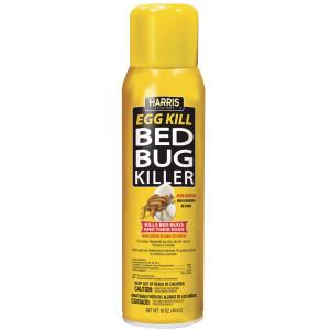 Harris Bed Bug Killer Egg Kill Aerosol 12ea/16 oz