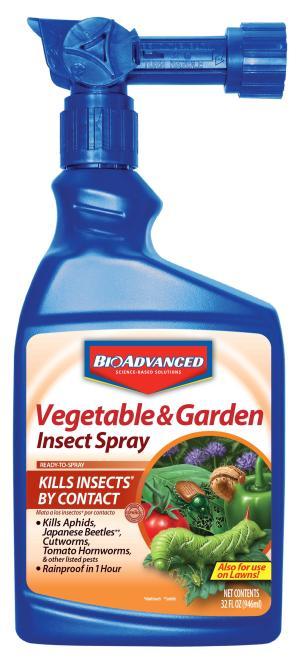 BioAdvanced Vegetable & Garden Insect Spray 8ea/32 fl oz