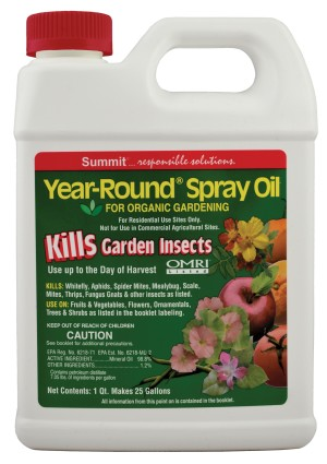 Summit Year-Round Spray Oil Kills Garden Insects 6ea/32 fl oz