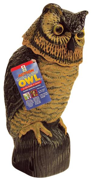 Easy Gardener Garden Defense Action Owl Brown 6ea/16 in