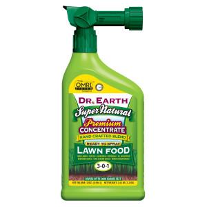 Dr. Earth Super Natural Lawn Fertilizer 3-0-1 12ea/32 fl oz