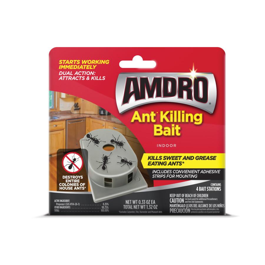 Amdro Ant Killing Bait Indoor Stations 24ea/4 pk