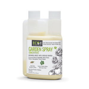 Arborjet Eco-1 Garden Spray Broad Spectrum Fungicide and Insecticide Concentrate 12ea/8 oz