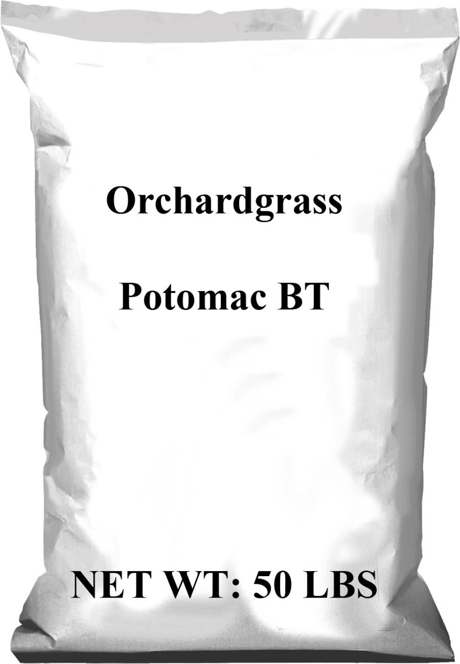 Pennington Orchardgrass Potomac Seed BT 1ea/50 lb