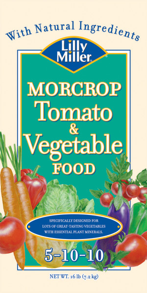 Lilly Miller Morcrop Tomato & Vegetable Food 5-10-10 1ea/16 lb