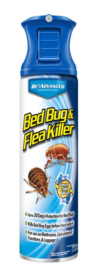 BioAdvanced Bed Bug & Flea Killer Spray 12ea/15 oz