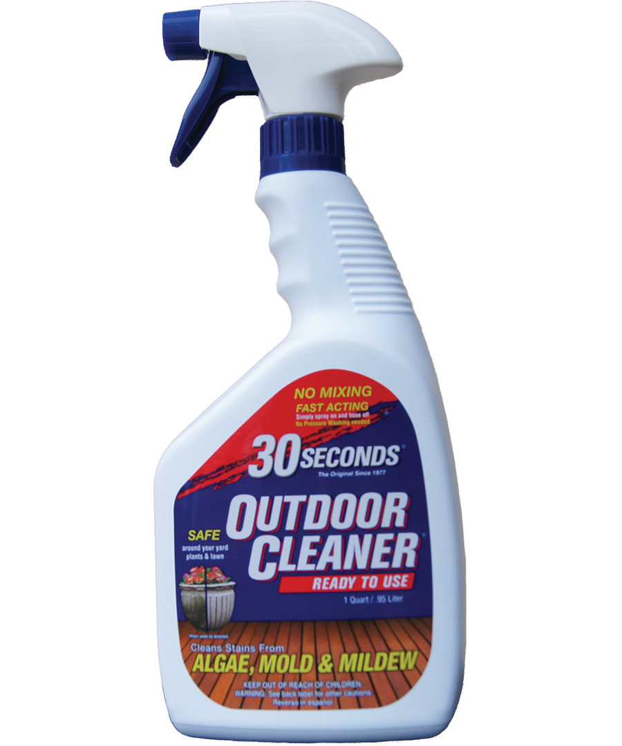 30 Seconds Outdoor Cleaner Algae Mold & Mildew Ready to Use Trigger Sprayer 6ea/32 oz