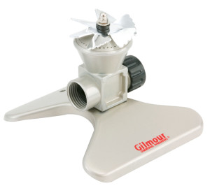 Gilmour 5 Pattern Turret Sprinkler Metal White 6ea/Small