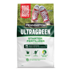 Pennington Ultragreen Starter Fertilizer 22-23-4 1ea/5M 14 lb