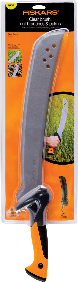 Fiskars Garden Machete with Sheath 1ea/15 in
