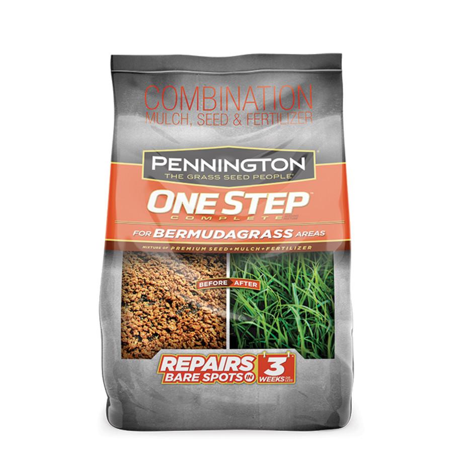 Pennington One Step Complete Bermudagrass Seed, Mulch, Fertilizer 6ea/8.3 lb