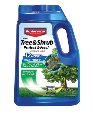 BioAdvanced 12 Month Tree & Shrub Protect & Feed Granules 2-1-1 4ea/10 lb