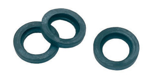 Gilmour Brass Quick Connector Seals Replacement O-Rings Black 10ea/3 pk