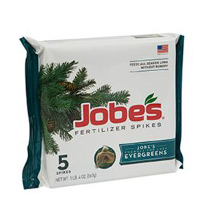 Jobe's Fertilizer Spikes Evergreen Tree 13-3-4