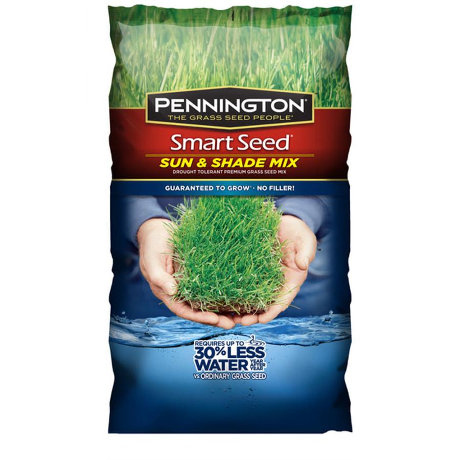 Pennington Smart Seed Sun & Shade Mix Grass Seed Powder Coated 1ea/20 lb