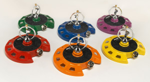 Dramm ColorStorm Spinning Sprinkler Assorted Colors 6ea