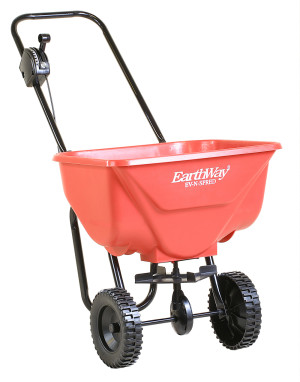 Earthway Broadcast Spreader With 65 Pound Capacity Red 3ea/46 In X 21 In X 21 in