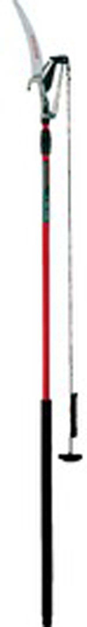 Corona Dual Compound Action Tree Pruner w/ Fiberglass Pole 1-1/4in Cut 4ea/14 ft