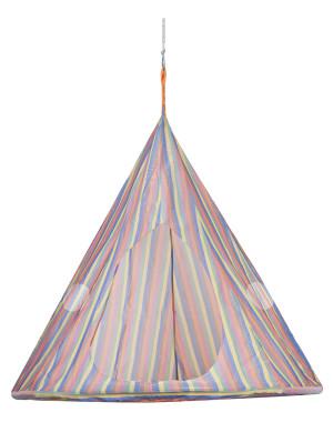 FlowerHouse TearDrop Hanging Chair Stripe 1ea/60Inx60 in