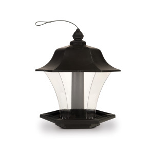 Pennington Garden Coach Light Bird Feeder Black 2ea