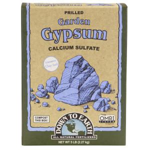 Down To Earth Garden Gypsum 6ea/5 lb