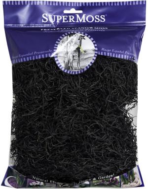 Supermoss Spanish Moss Preserved Black 10ea/4 oz