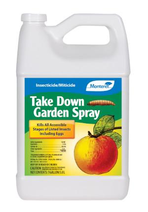 Monterey Take Down Garden Spray Insecticide/Miticide Concentrate 4ea/1 gal