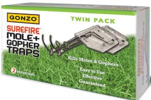 Gonzo Surefire Mole & Gopher Traps Steel Silver 6ea/2 pk