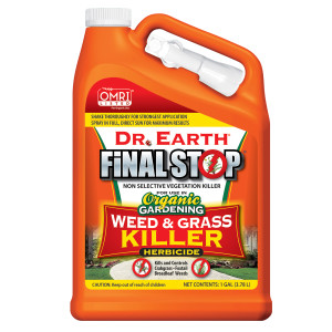 Dr. Earth Final Stop Weed & Grass Killer Herbicide Ready to Use Nested Trigger 4ea/1 gal