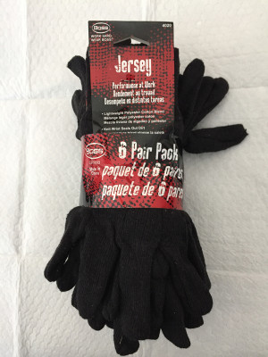 Boss Jersey Regular Weight Glove Brown 1ea/6 pk