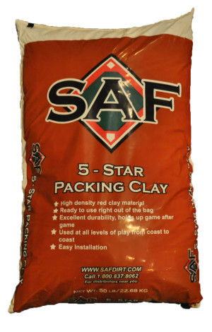 Southern Athletic Fields 5 Star Packing Clay Red 1ea/50 lb