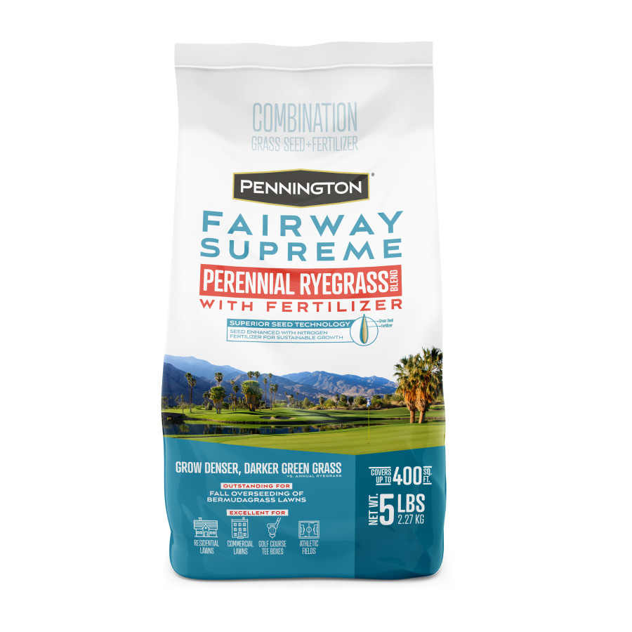 Pennington Fairway Supreme Perennial Ryegrass Seed Blend Powder Coated 1ea/5 lb