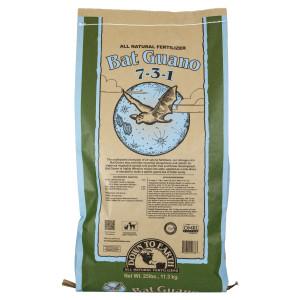 Down To Earth Bat Guano Natural Fertilizer 7-3-1 1ea/25 lb