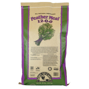 Down To Earth Feather Meal Natural Fertilizer 12-0-0 OMRI 1ea/50 lb