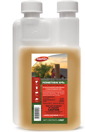 Control Solutions Permethrin 10% Insecticide Concentrate 12ea/16 oz