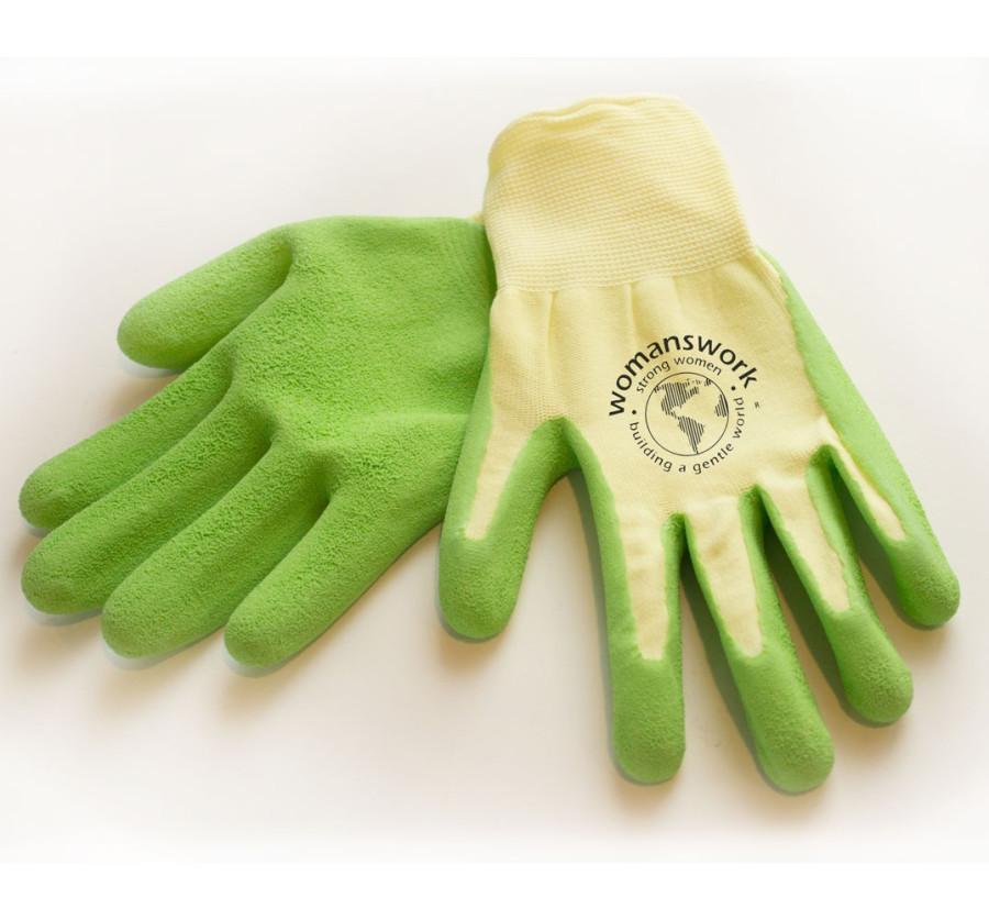 Womanswork Weeding Glove Green 6ea/Medium