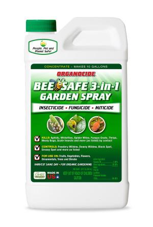 Organocide Bee Safe 3-in-1 Garden Spray Concentrate 6ea/32 fl oz