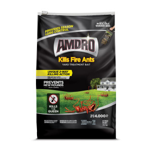 Amdro Yard Treatment Bait Kills Fire Ants Granules 6ea/2 lb