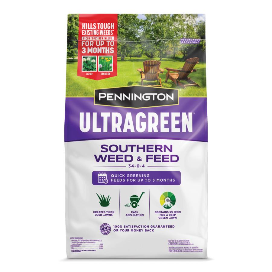 Pennington Ultragreen Southern Weed & Feed 34-0-4 1ea/5M 12.5 lb