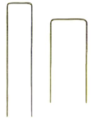 DeWitt Anchor Pins 11-Gauge Silver 48ea/6Inx1Inx6In 12 pk