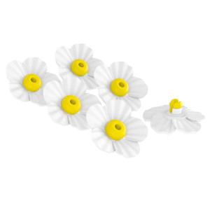 Classic Brands Hummingbird Feeder Replacement Flowers White 10ea/6 pk